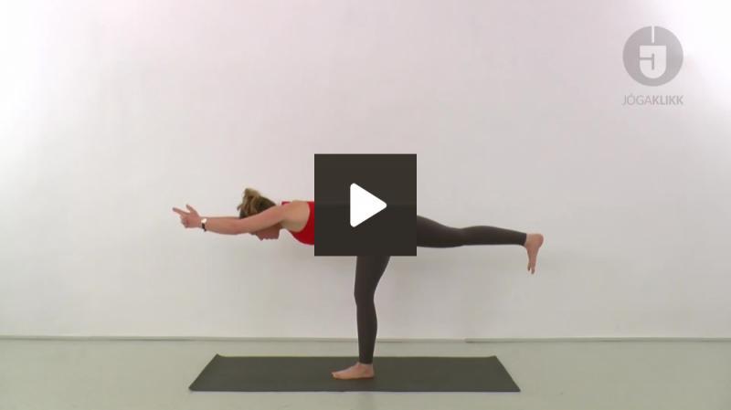 Erő és lendület, Virabhadrászana 3